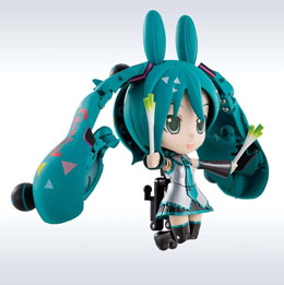 Photo du produit MIKU HATSUNE CUTERODY CHOGOKIN FIGURINE DIECAST MIRACLE HENKEI MIKU/RODY Photo 3