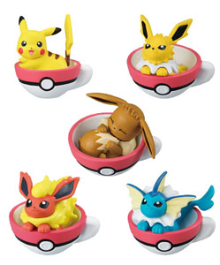 POKEMON GASHAPON CUP TIME MASCOT VOL 5 (5 PIÈCES)
