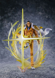 ONE PIECE STATUETTE PVC FIGUARTSZERO -THE THREE ADMIRALS- BORSALINO (KIZARU) 22 CM