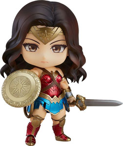 WONDER WOMAN MOVIE FIGURINE NENDOROID WONDER WOMAN HERO'S EDITION