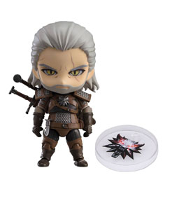 THE WITCHER 3 WILD HUNT FIGURINE NENDOROID GERALT EXCLUSIVE 10 CM