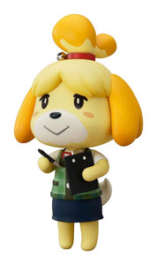 ANIMAL CROSSING NEW LEAF FIGURINE NENDOROID SHIZUE ISABELLE 10 CM
