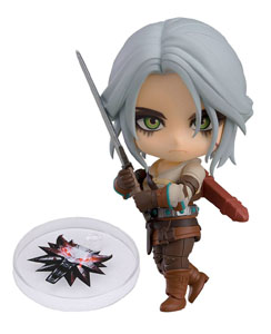 THE WITCHER 3 WILD HUNT FIGURINE NENDOROID CIRI EXCLUSIVE 10 CM