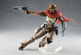 Photo du produit OVERWATCH FIGURINE FIGMA MCCREE 16 CM Photo 1