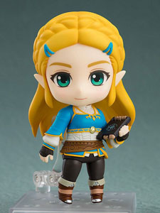 THE LEGEND OF ZELDA BREATH OF THE WILD FIGURINE NENDOROID ZELDA BREATH OF THE WILD VER. 10 CM