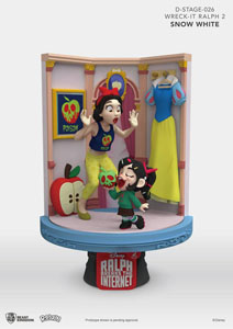 RALPH 2.0 DIORAMA PVC D-STAGE SNOW WHITE & VANELLOPE