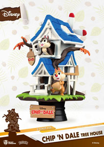 Photo du produit DISNEY SUMMER SERIES DIORAMA PVC D-STAGE CHIP 'N DALE TREE HOUSE Photo 1