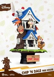 Photo du produit DISNEY SUMMER SERIES DIORAMA PVC D-STAGE CHIP 'N DALE TREE HOUSE Photo 3