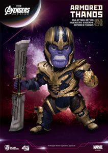 AVENGERS: ENDGAME EGG ATTACK FIGURINE ARMORED THANOS 23 CM