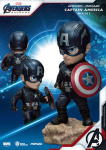 Photo du produit AVENGERS : ENDGAME FIGURINE MINI EGG ATTACK CAPTAIN AMERICA 7 CM Photo 1