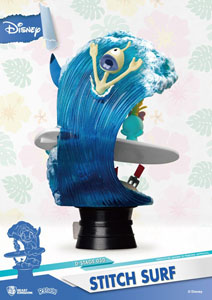 Photo du produit DISNEY SUMMER SERIES DIORAMA PVC D-STAGE STITCH SURF 15 CM Photo 2