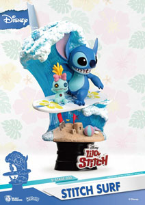 Photo du produit DISNEY SUMMER SERIES DIORAMA PVC D-STAGE STITCH SURF 15 CM Photo 3