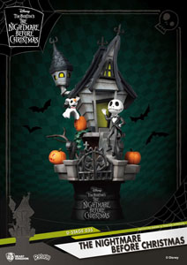 L´ÉTRANGE NOËL DE MR. JACK DIORAMA PVC D-STAGE JACK'S HAUNTED HOUSE 15 CM