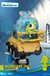Photo du produit DISNEY COIN RIDE SERIES DIORAMA PVC D-STAGE MONSTERS INC. 16 CM Photo 1