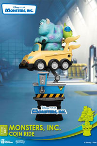 Photo du produit DISNEY COIN RIDE SERIES DIORAMA PVC D-STAGE MONSTERS INC. 16 CM Photo 2