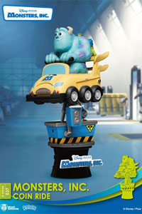 Photo du produit DISNEY COIN RIDE SERIES DIORAMA PVC D-STAGE MONSTERS INC. 16 CM Photo 3