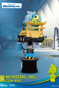 Photo du produit DISNEY COIN RIDE SERIES DIORAMA PVC D-STAGE MONSTERS INC. 16 CM Photo 4