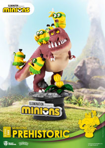 Photo du produit MINIONS DIORAMA PVC D-STAGE PREHISTORIC 15 CM Photo 2