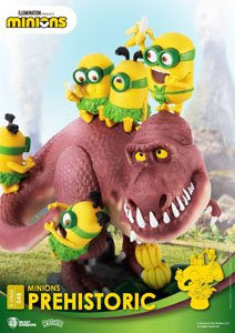 Photo du produit MINIONS DIORAMA PVC D-STAGE PREHISTORIC 15 CM Photo 3