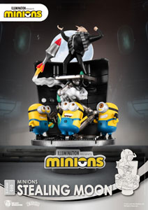 MINIONS DIORAMA PVC D-STAGE STEALING MOON 15 CM