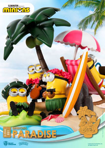 Photo du produit MINIONS DIORAMA PVC D-STAGE PARADISE 15 CM Photo 2
