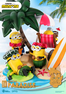 Photo du produit MINIONS DIORAMA PVC D-STAGE PARADISE 15 CM Photo 3