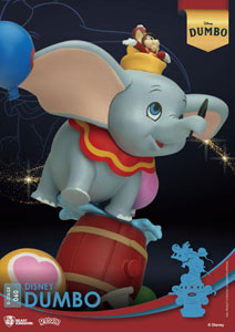 Photo du produit DISNEY BEAST KINGDOM CLASSIC ANIMATION SERIES DIORAMA PVC D-STAGE DUMBO 15 CM Photo 1