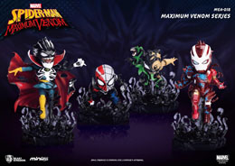 MARVEL MAXIMUM VENOM COLLECTION FIGURINES MINI EGG ATTACK BUNDLE SET 8 - 14 CM