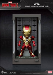 Photo du produit IRON MAN 3 MINI EGG ATTACK FIGURINE HALL OF ARMOR IRON MAN MARK XVII 8 CM Photo 1