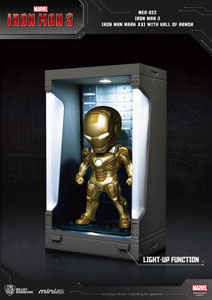 IRON MAN 3 MINI EGG ATTACK FIGURINE HALL OF ARMOR IRON MAN MARK XXI 8 CM