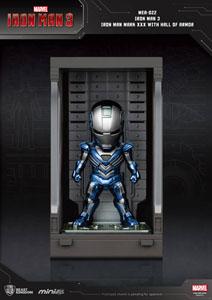 Photo du produit IRON MAN 3 MINI EGG ATTACK FIGURINE HALL OF ARMOR IRON MAN MARK XXX 8 CM Photo 1