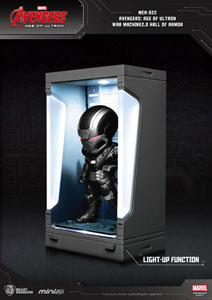 AVENGERS L'ÈRE D'ULTRON MINI EGG ATTACK FIGURINE HALL OF ARMOR WAR MACHINE 2.0 8 CM