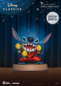 DISNEY CLASSIC SERIES FIGURINE MINI EGG ATTACK STITCH SPACE SUIT LIMITED EDITION