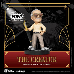 BEAST KINGDOM FIGURINE MINI EGG ATTACK STAN LEE THE CREATOR 8 CM