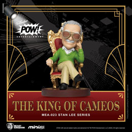 BEAST KINGDOM FIGURINE MINI EGG ATTACK STAN LEE THE KING OF CAMEOS 8 CM