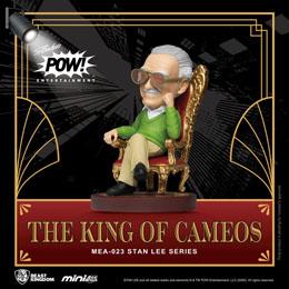 Photo du produit BEAST KINGDOM FIGURINE MINI EGG ATTACK STAN LEE THE KING OF CAMEOS 8 CM Photo 1