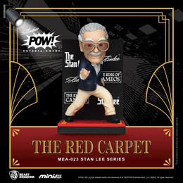BEAST KINGDOM FIGURINE MINI EGG ATTACK STAN LEE THE RED CARPET 8 CM