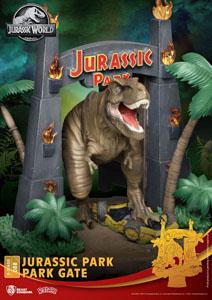 Photo du produit JURASSIC PARK DIORAMA PVC D-STAGE PARK GATE 15 CM Photo 4