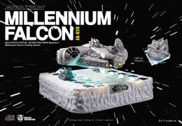 STAR WARS DIORAMA LUMINEUX EGG ATTACK MILLENNIUM FALCON FLOATING VER. (EPISODE V)