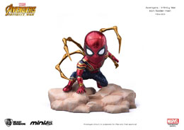 AVENGERS INFINITY WAR FIGURINE MINI EGG ATTACK IRON SPIDER 9 CM