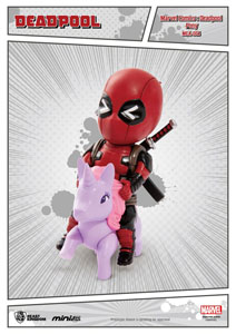 MARVEL COMICS FIGURINE MINI EGG ATTACK DEADPOOL PONY 9 CM