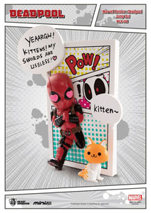 Photo du produit MARVEL COMICS FIGURINE MINI EGG ATTACK DEADPOOL JUMP OUT 4TH WALL 12 CM Photo 1