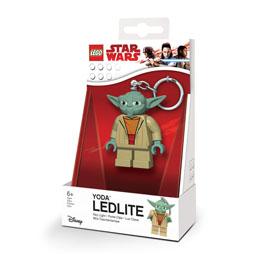 Photo du produit LEGO STAR WARS PORTE-CLÉS LUMINEUX YODA 6 CM Photo 1
