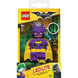 MINI LAMPE DE POCHE LEGO BATMAN MOVIE BATGIRL AVEC CHAINETTE