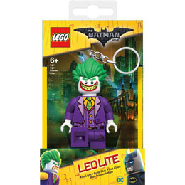 MINI LAMPE DE POCHE LEGO BATMAN MOVIE JOKER AVEC CHAINETTE