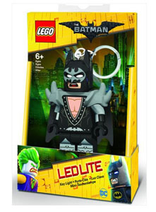 MINI LAMPE DE POCHE LEGO BATMAN GLAM ROCKER BATMAN