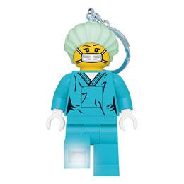LEGO Classic porte-clés lumineux Chirurgien 8 cm