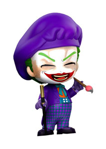 BATMAN (1989) FIGURINE COSBABY JOKER (LAUGHING VERSION) 12 CM