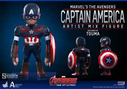 Photo du produit HOT TOYS FIGURINE ARTIST MIX CAPTAIN AMERICA AVENGERS AGE OF ULTRON Photo 1