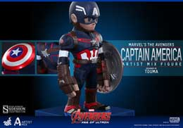 Photo du produit HOT TOYS FIGURINE ARTIST MIX CAPTAIN AMERICA AVENGERS AGE OF ULTRON Photo 2
